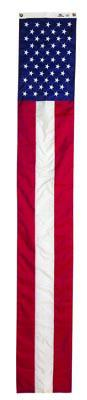 "Old Glory Pull Down Banner - 19"" x 12'"