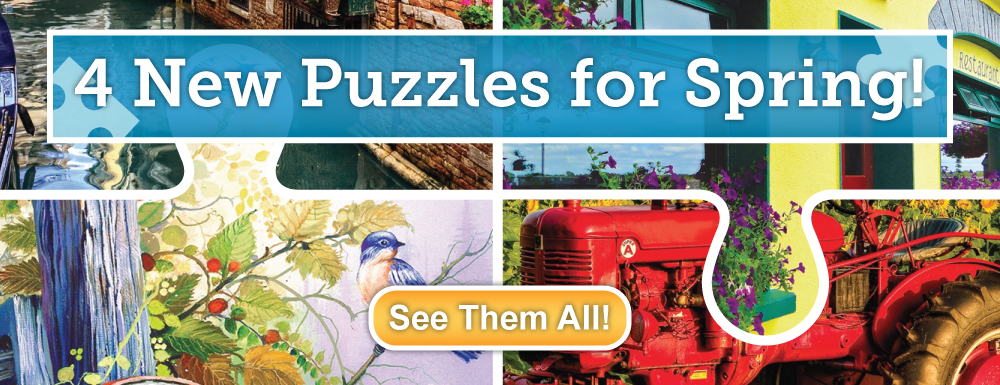 Four All New Puzzles!
