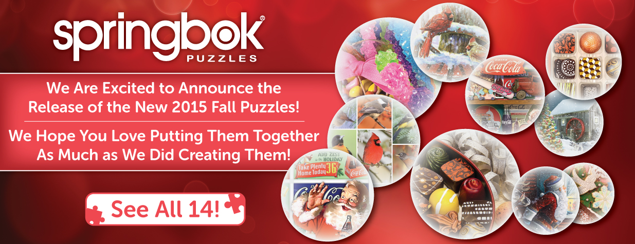 See Our New Puzzles!