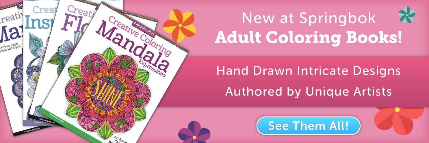 Adult Coloring Books are Here!