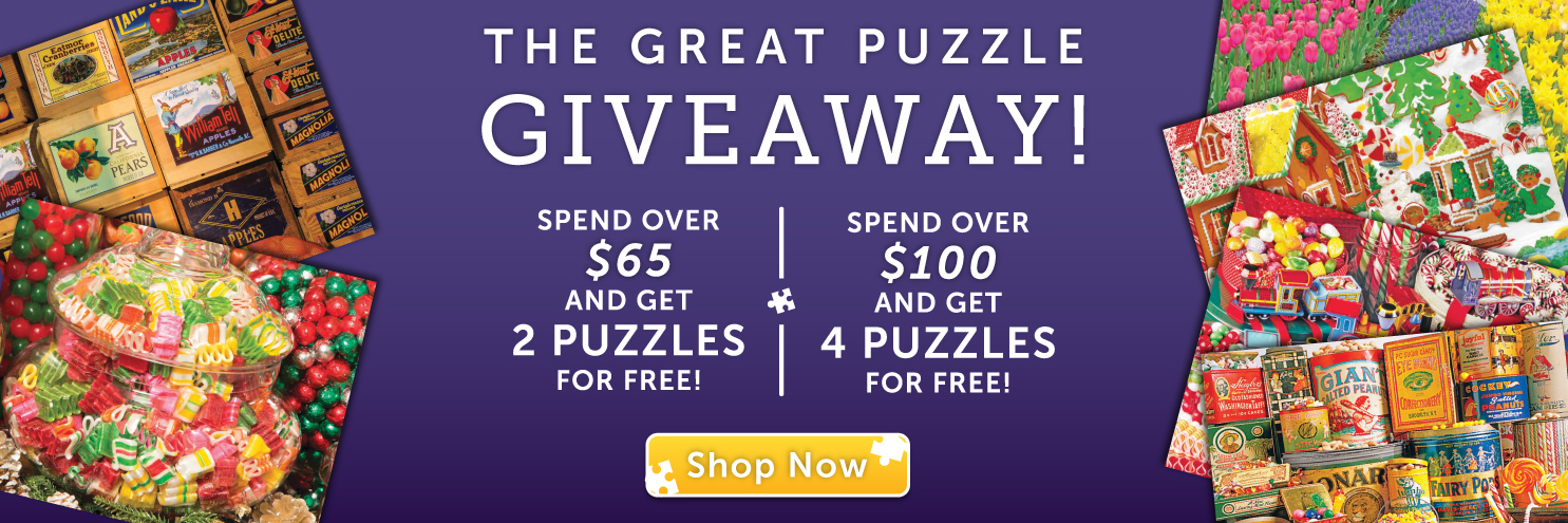 The Great Puzzle Giveaway is Here!