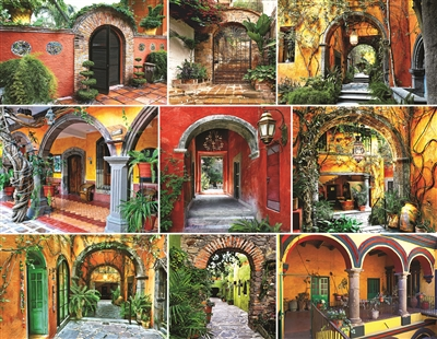 Doors of the World 500 Piece Jigsaw Puzzle