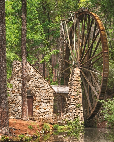 Water Wheel 1000 Piece Jigsaw Puzzle