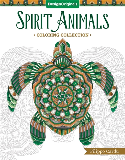 Spirit Animals Adult Coloring Book