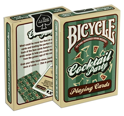 Bicycle Cocktail Party Standard Index Playing Cards