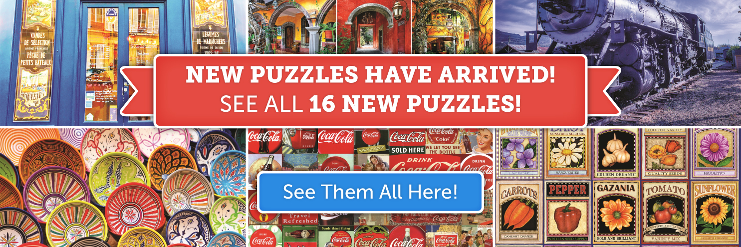 Shop Our New Sale Puzzles!