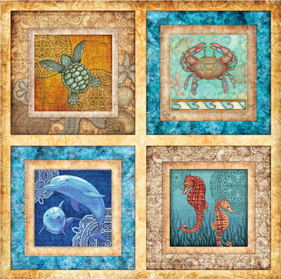 Under the Sea 500 Piece Jigsaw Puzzle