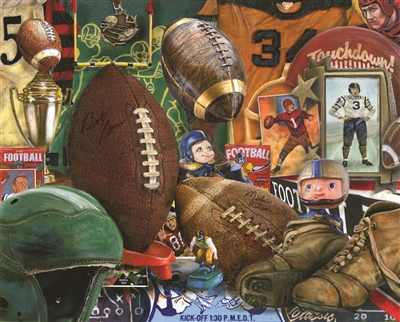 Vintage Football 1000 Piece Jigsaw Puzzle