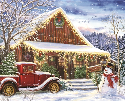 Lazy Creek Country Store 1000 Piece Jigsaw Puzzle