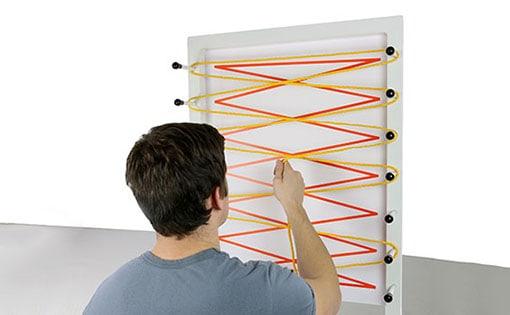 Kit d'accessoires pour tableau d'exercices Rolyan
