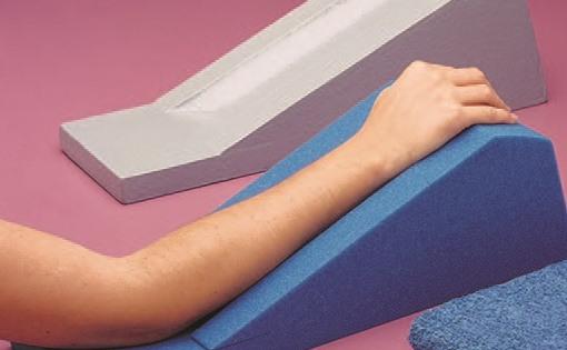 Housse en tissu éponge pour support de bras