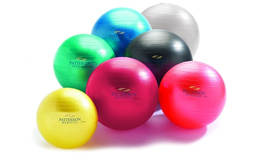 Anti-burst exercise therapy balls