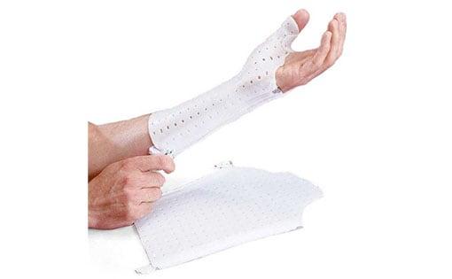 Attelle de poignet et de pouce zippée AquaForm