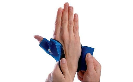 Support de pouce en néoprène à enrouler
