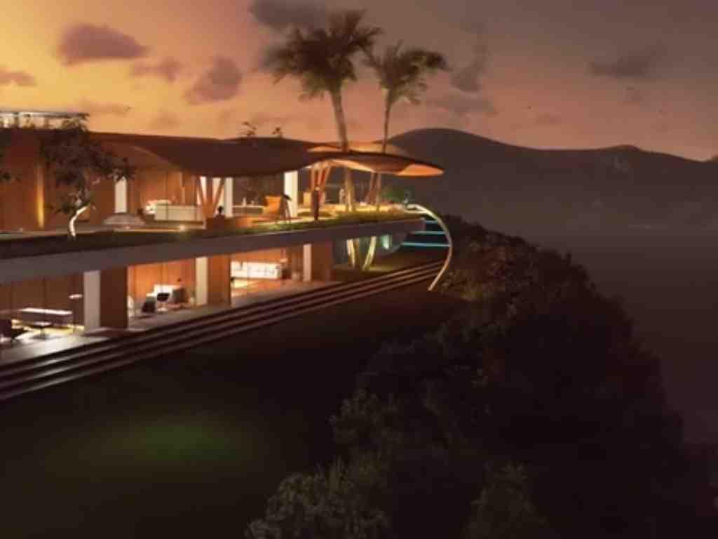 3D Villa Architectural