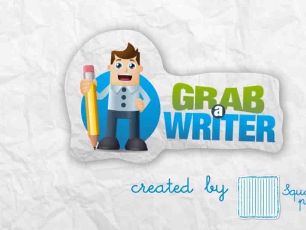 GRAB A WRITER
