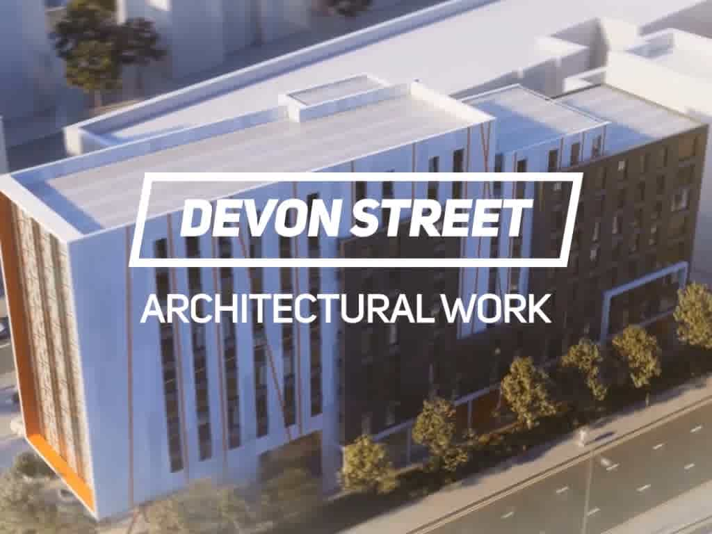 3D Architectural rendering for Devon Street