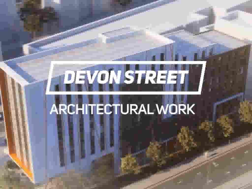 3D Architectural rendering for Devon Street
