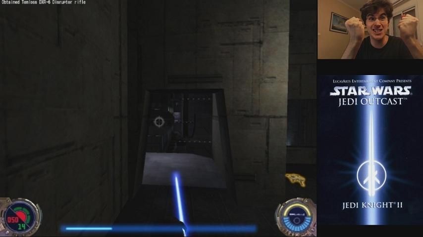 Jedi Outcast - Luke and Lightsaber