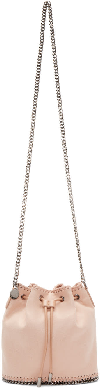 Stella Mccartney Pink Falabella Bucket Bag