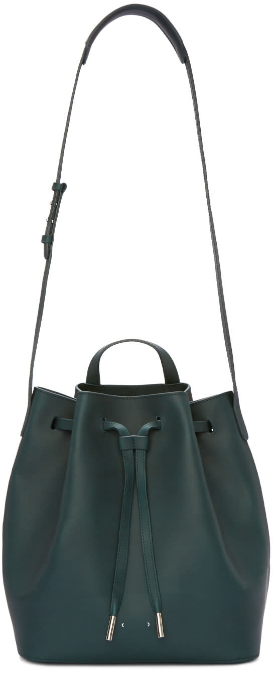 Pb 0110 Green Ab16 Bucket Bag