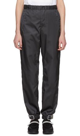 Prada - SSENSE Exclusive Black Arca Edition Lounge Pants