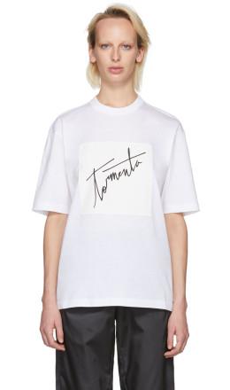 Prada - SSENSE Exclusive White Arca Edition 'Tormenta' T-Shirt