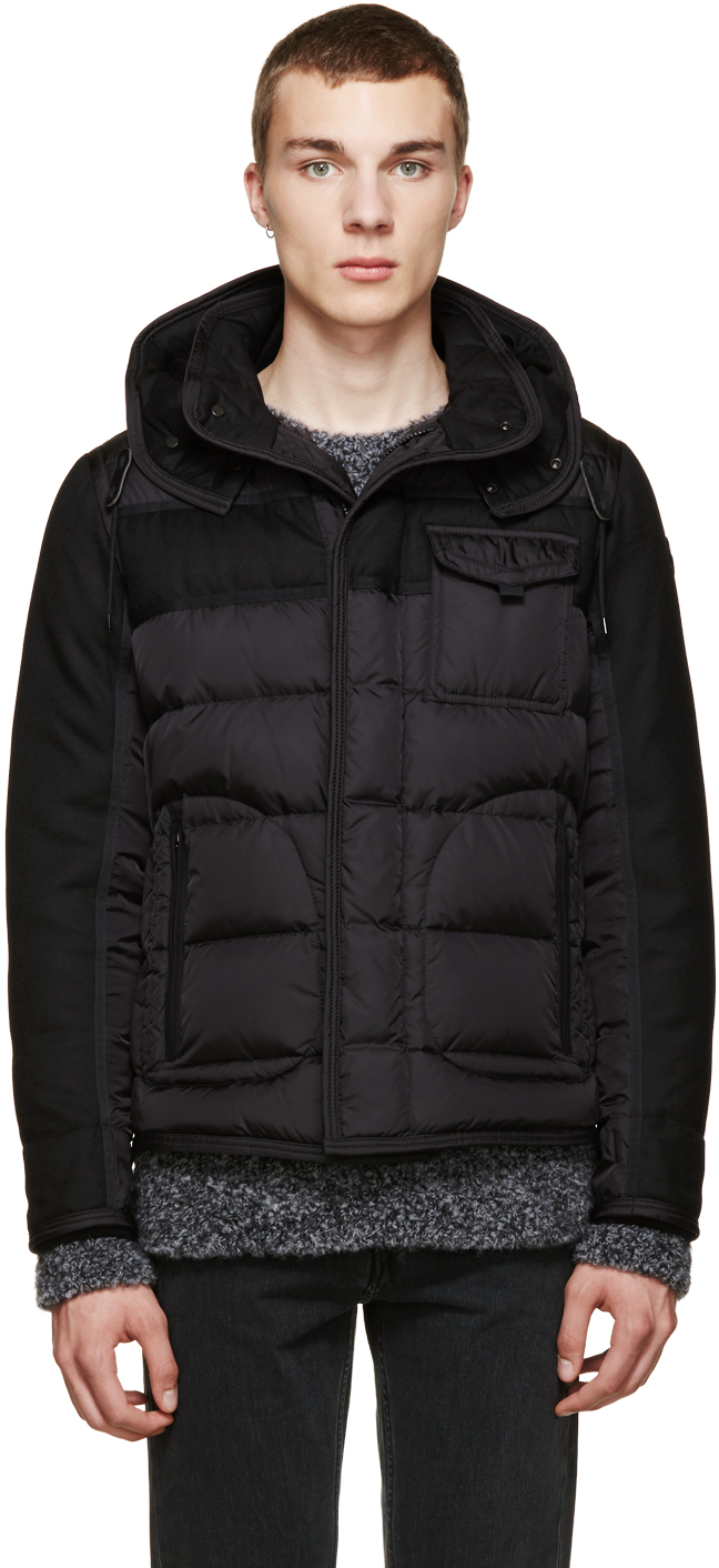 Black Quilted Ryan Jacket