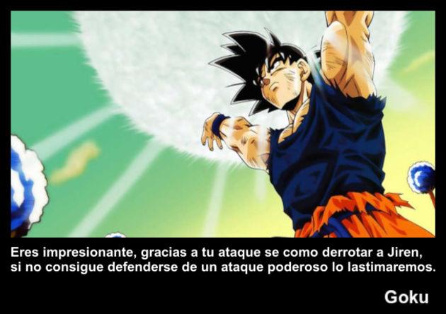 goku   Frase Dragon Ball