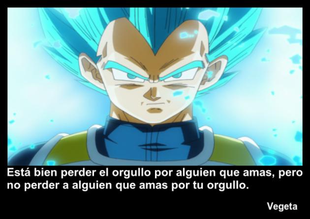 vegeta | Frase Dragon Ball