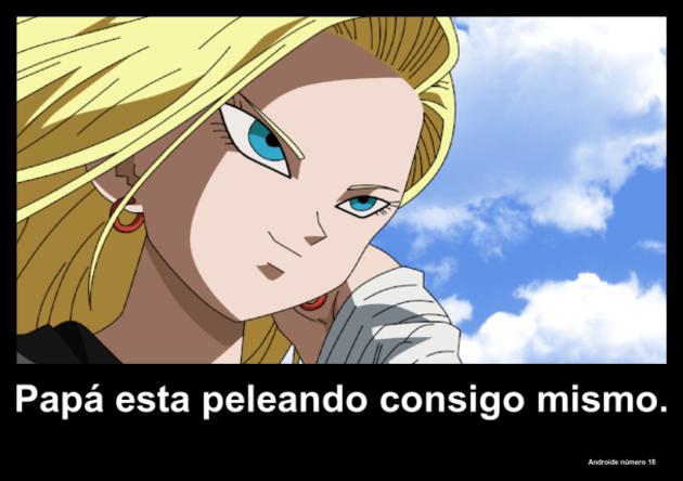 androidenumero18 | Frase Dragon Ball