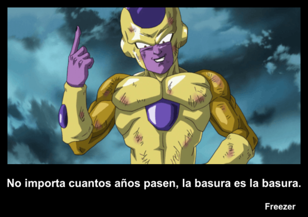 Freezer | Frase Dragon