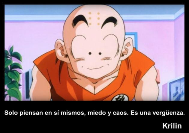 krilin | Frase Dragon Ball