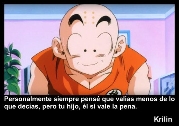 krilin   Frase Dragon Ball