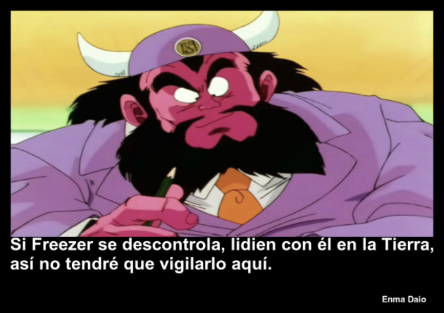 enmadaio | Frase Dragon Ball