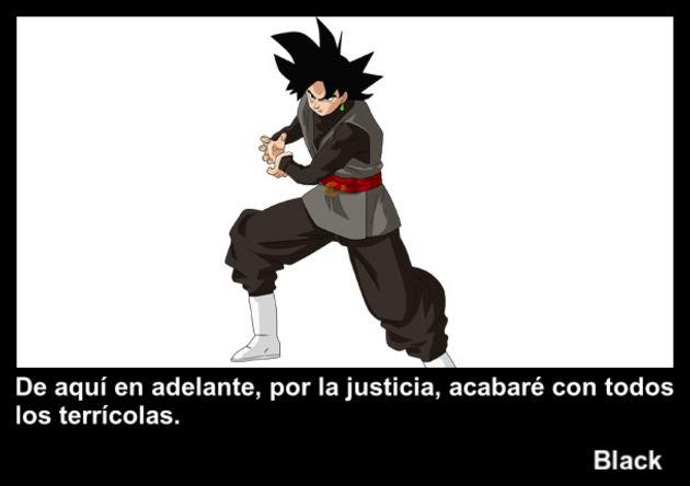 black | Frase Dragon Ball