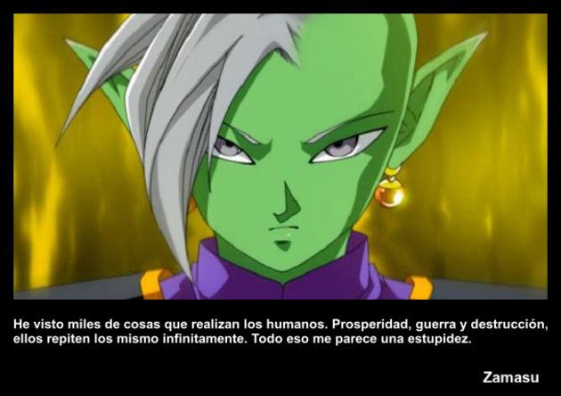 zamasu | Frase Dragon Ball