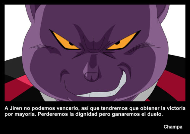 champa | Frase Dragon Ball