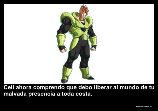 androidenumero16   Frase Dragon Ball