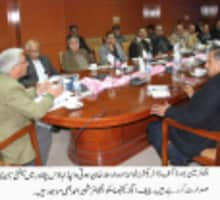 Mr. Nawabzada Arsala Khan presiding Safety Seminar at PESCO Headquarter