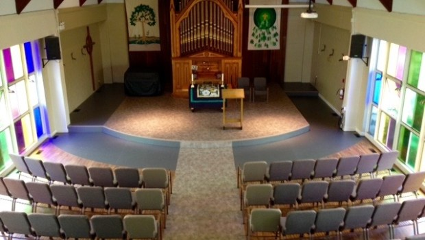 Our sanctuary is getting a much needed makeover. Take a peak at the renovations!