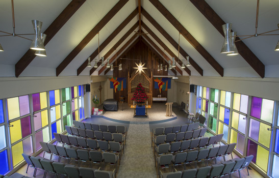 Our sanctuary received a much needed makeover. Take a peak at the renovations!