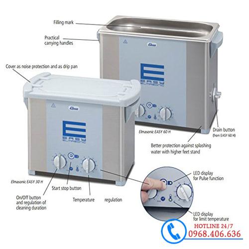 Hình ảnh Bể rửa siêu âm Elma™ Easy 180H - 18 lít - Có gia nhiệt cung cấp bởi Stech Sài Gòn. Sản phẩm có sẵn tại Hà Nội và Hồ Chí Minh