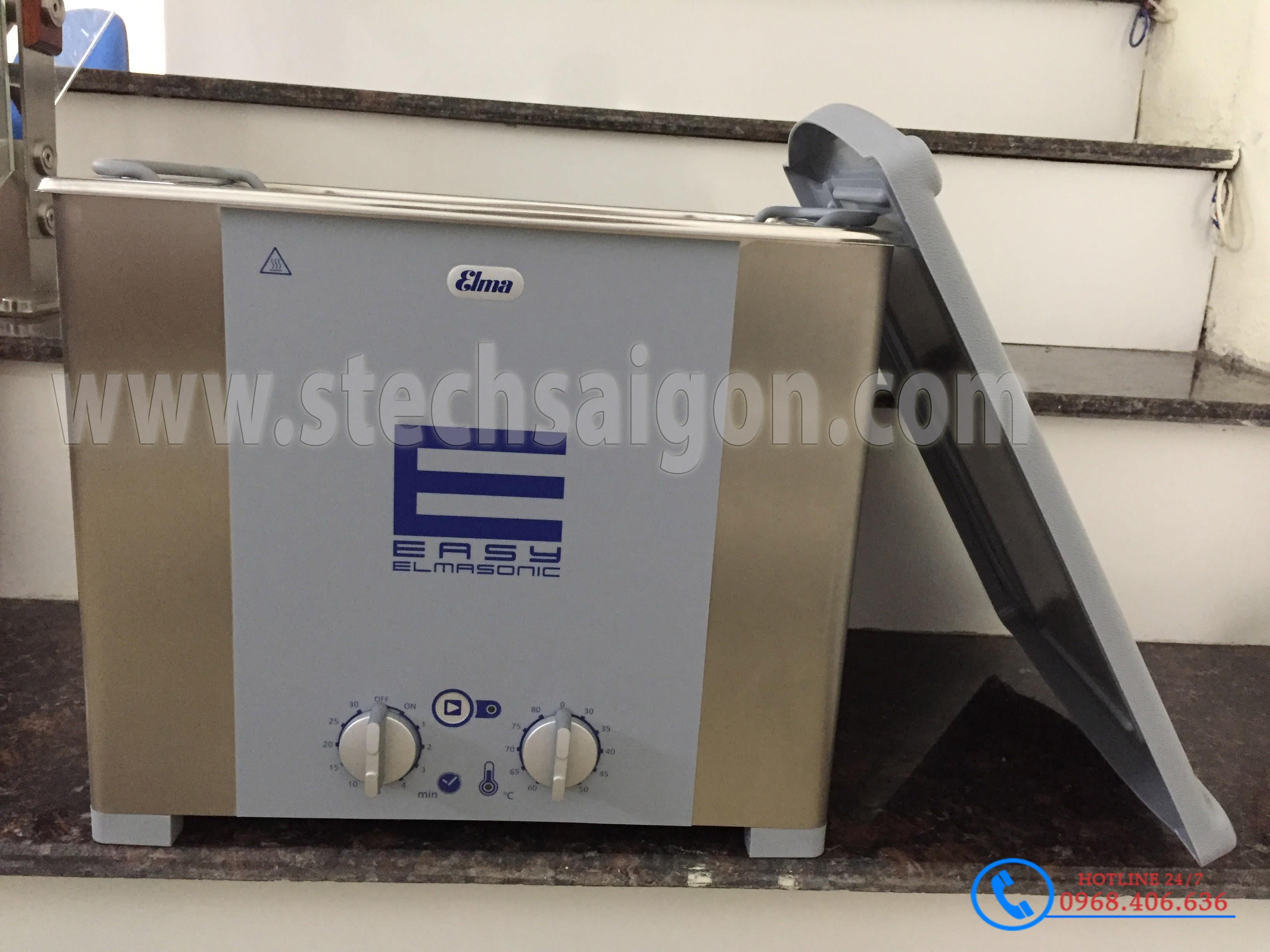 Hình ảnh Bể rửa siêu âm Elma™ Easy 120H - 12.75 lít - Có gia nhiệt cung cấp bởi Stech Sài Gòn. Sản phẩm có sẵn tại Hà Nội và Hồ Chí Minh
