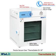 Hình ảnh Tủ sấy chân không Daihan 70 lít ThermoStable OV-70 sản phẩm có sẵn tại Stech Sài Gòn