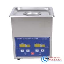Hình ảnh Bể rửa siêu âm Trung Quốc Jeken PS-08A (1.3 lít) sản phẩm có sẵn tại Stech Sài Gòn