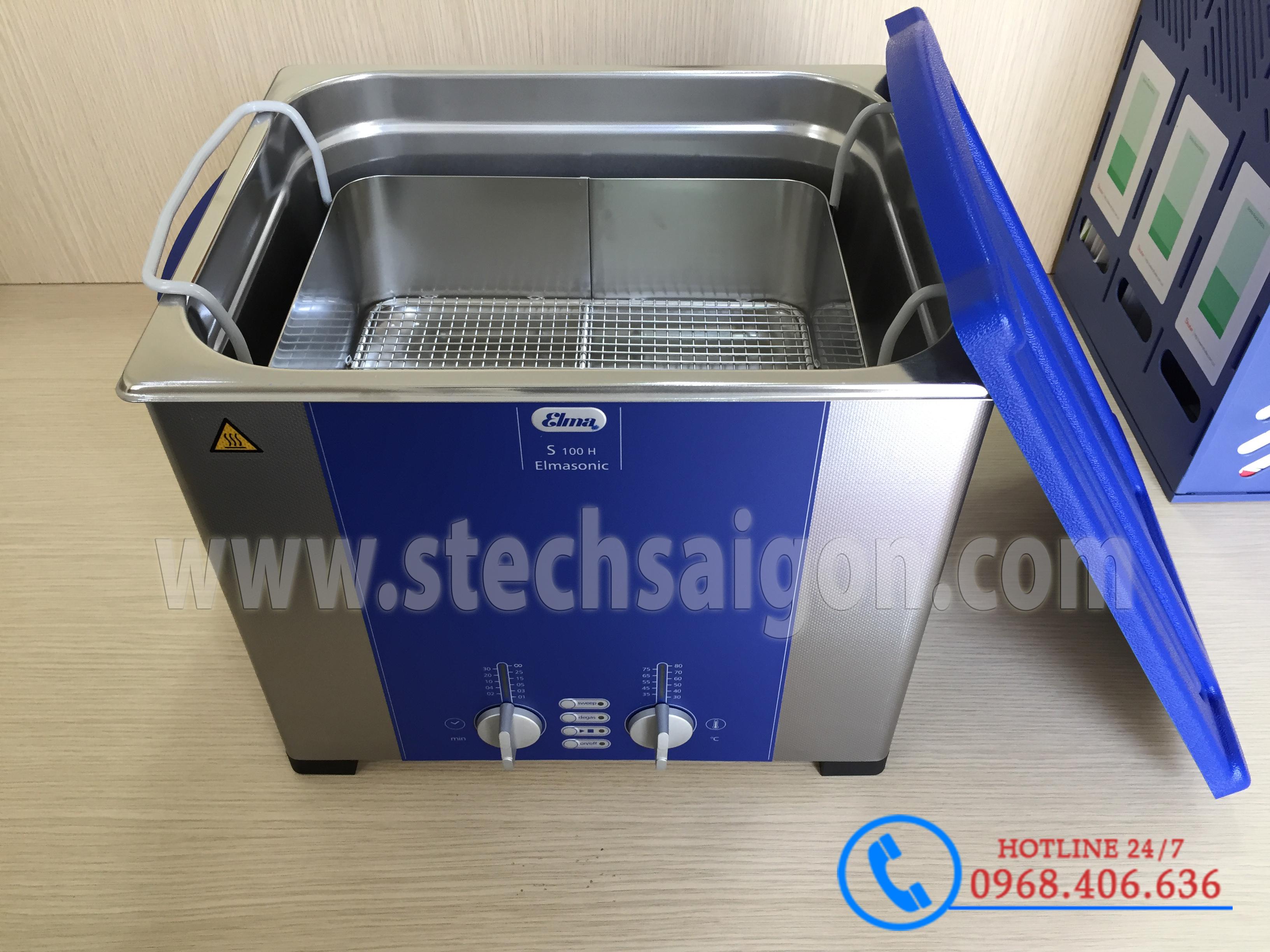 Hình ảnh Bể rửa siêu âm Elma™ S100H - 9.5 lít sản phẩm có sẵn tại Stech Sài Gòn