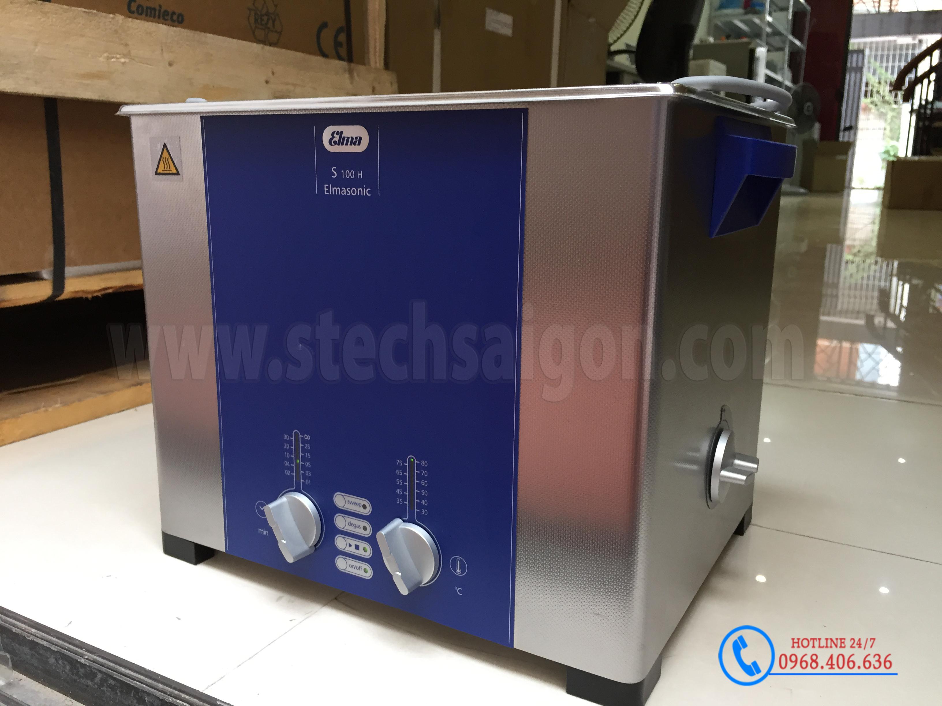 Hình ảnh Bể rửa siêu âm Elma™ S100H - 9.5 lít cung cấp bởi Stech Sài Gòn. Sản phẩm có sẵn tại Hà Nội và Hồ Chí Minh