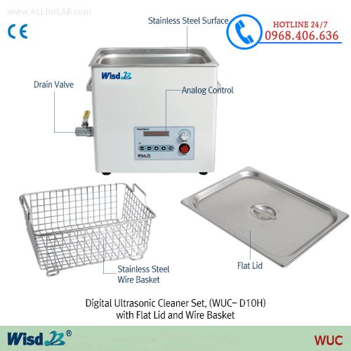 Hình ảnh <p>Bể rửa si&ecirc;u &acirc;m hiện số 3.3 l&iacute;t Daihan&nbsp;WUC-D03H</p> sản phẩm có sẵn tại Stech Sài Gòn