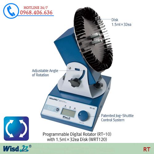 Hình ảnh <p>M&aacute;y lắc m&aacute;u Daihan Rotating mixer RT-10</p> sản phẩm có sẵn tại Stech Sài Gòn